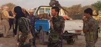 صورة توتر بين القوات الخاصة التابعة لمليشيا الإخوان وقبائل ربيز بعتق